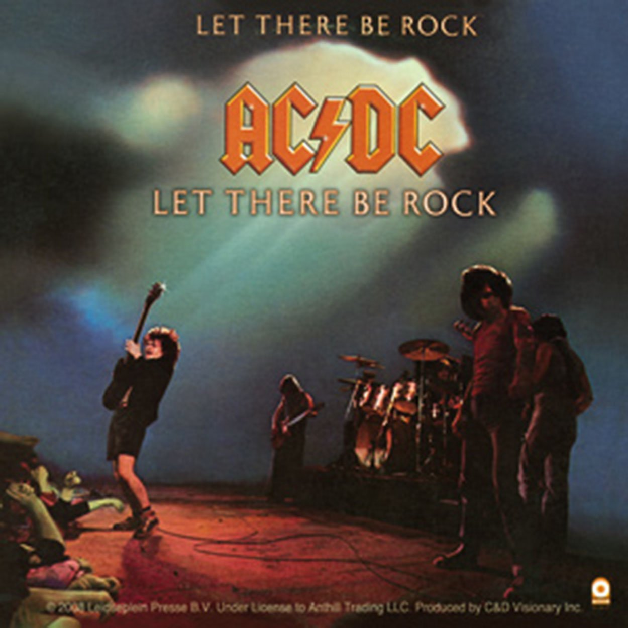 Licenses Products AC//DC Let There Be Rock Sticker C/&D Visionary Inc S-6018