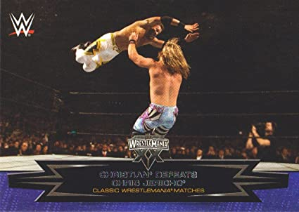 Chris Jericho Wrestlemania 17