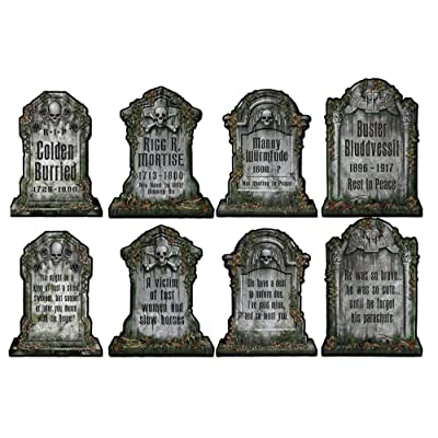 Beistle Tombstone Cutouts: Toys & Games