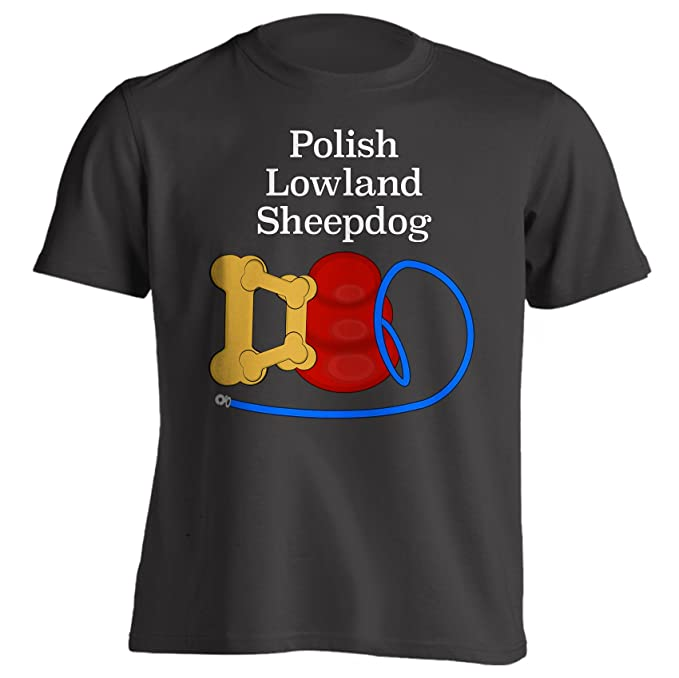 9a19bd55 Amazon.com: Funny Polish Lowland Sheepdog Dad Dog Breed T-Shirt ...