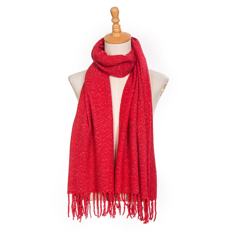 Grande écharpe d hiver douce pour femme Oversize XXL 190 x 60 cm SCH180 e1c7f30a013