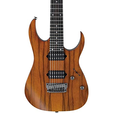 Ibanez rg752lwfx Prestige (7 cuerdas Guitarra eléctrica | Ale, color marrón color marrón.