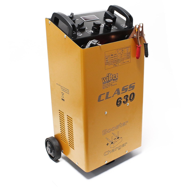 Wiltec Batterieladegerä t Batterie 12V 24V Ladegerä t Akkuladegerä t Boost 630 CLASS BOOSTER 630