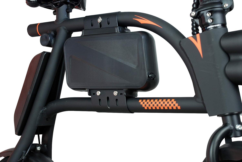 SABWAY® Bicicleta Eléctrica Plegable 400W Scooter Mini E-Bike Negra - Vehículo Eléctrico Movilidad Portátil Bateria Litio (Negro): Amazon.es: Deportes y ...