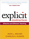 Explicit Instruction: What Works for Special-Needs Learners