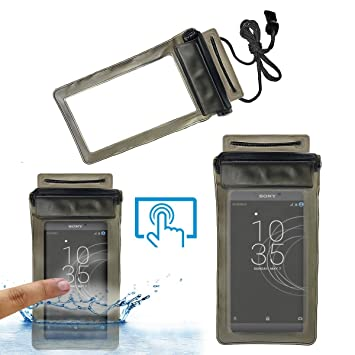 promo code f99b9 cc904 Acm Waterproof Bag Case for Sony Xperia R1 Plus Mobile: Amazon.in ...