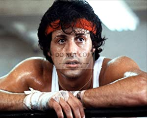 bucraft Sylvester Stallone AS Rocky Balboa in Rocky - 8X10 Publicity Photo (EE-129) AA