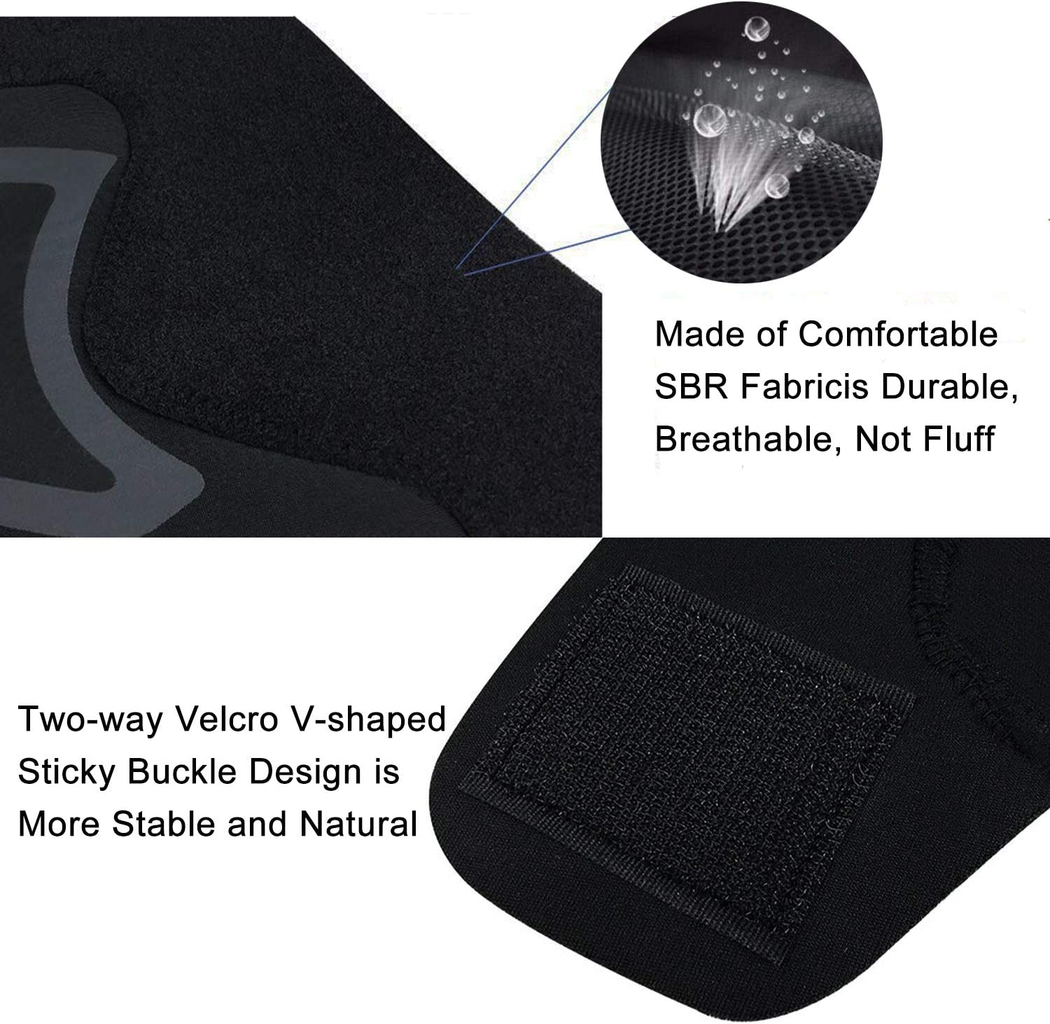 Elastic Ankle Braces for Sports Protection Breathable Ankle Supports for Women /& Men Adjustable Ankle Support Brace for Ankle Wrap Protect Against Chronic Ankle Strain Sprained Fatigue Ankle Brace