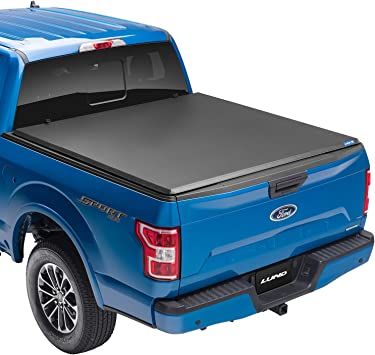 Amazon Com Lund Hard Tri Fold Hard Folding Truck Bed Tonneau Cover 969364 Fits 2015 2020 Ford F 150 5 7 Bed 67 1 Automotive