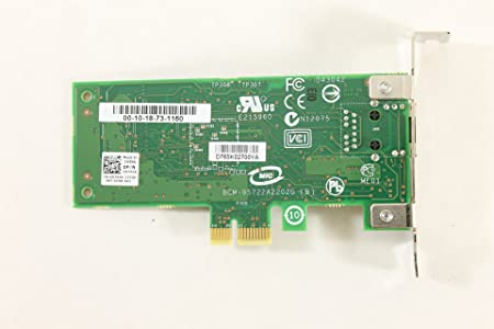 Amazon.com: Dell Optiplex 990 D765K Ethernet PCI-E Broadcom ...