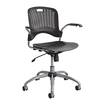 Safco Products 4182BL Sassy Manager Swivel Chair, Black