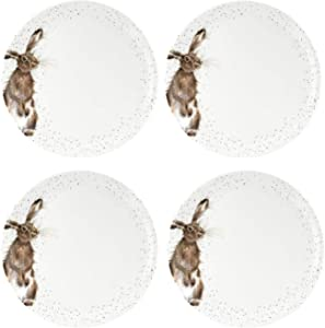 Portmeirion Home & Gifts WNOU4077-XB Dinner Plate-Set of 4, Ceramic