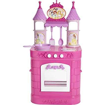 Kitchen Playset Disney Princess Magical Preschool Toys Girls Pretend Cooking Fun Play Cook Bake Xmas Birthday Gift