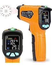 Thermomètre Infrarouge Temperature Laser Kasimir AD70 Cuisine Interieur Mesure Temperature -50℃ à 800℃ Sans Contact Avec 12 Points Aperture Fonction Température Alarme Rapid Sight Lire Francais PDF