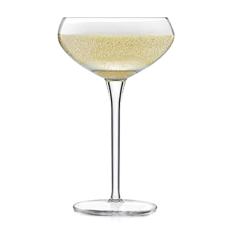 a9e50061321 Amazon.com | Libbey Signature Kentfield Coupe Cocktail Glasses, Set of 4: Champagne  Glasses