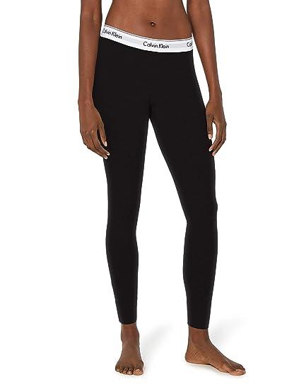 Calvin Klein Underwear Modern - Bas de pyjama - Uni - Femme - Noir (Black 1397c16ab6ef
