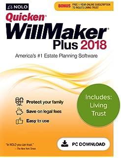 Amazon quicken willmaker plus 2018 mac and windows online quicken willmaker plus 2018 living trust pc download fandeluxe Images