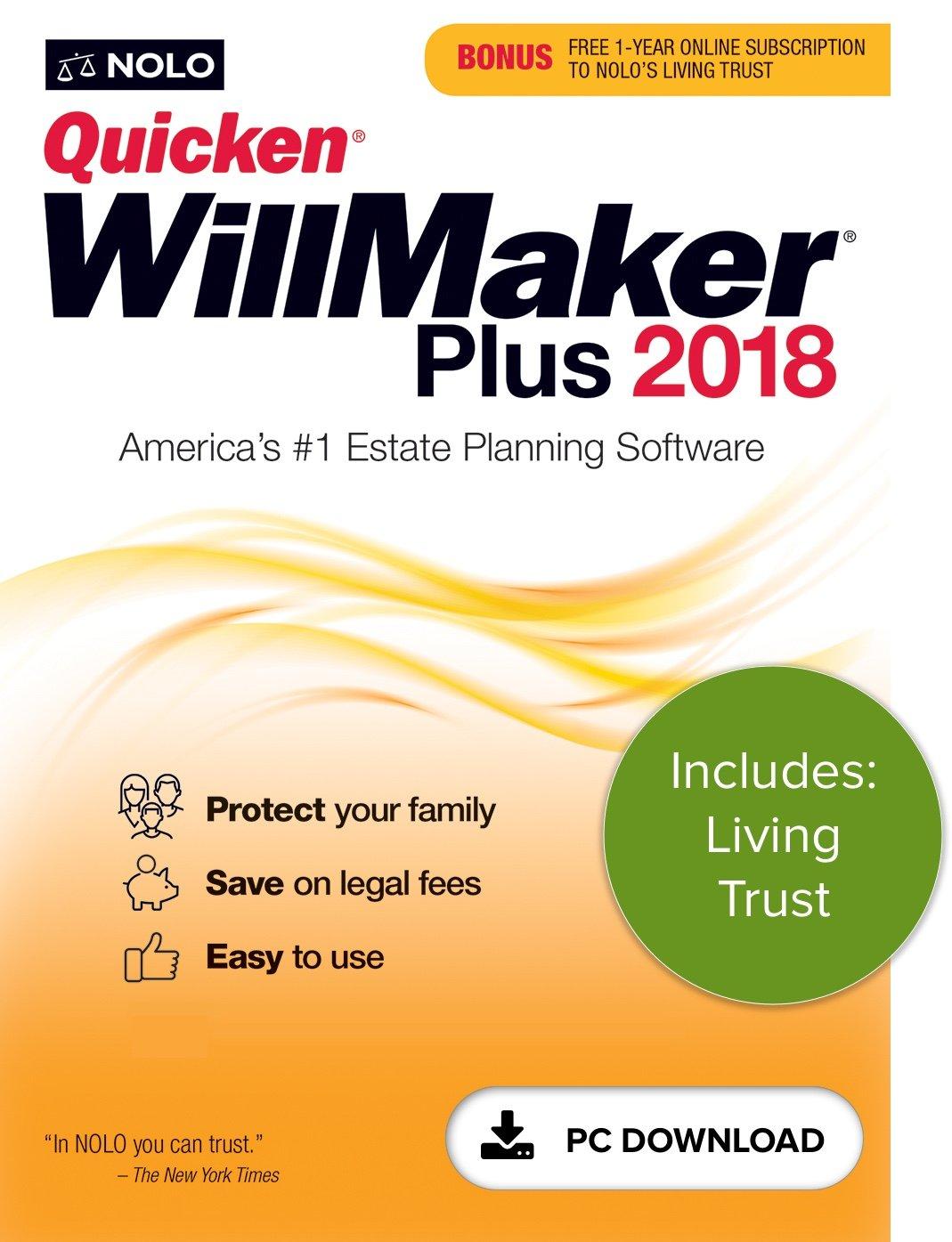 Amazon Quicken Willmaker Plus 2018 Living Trust Pc Download