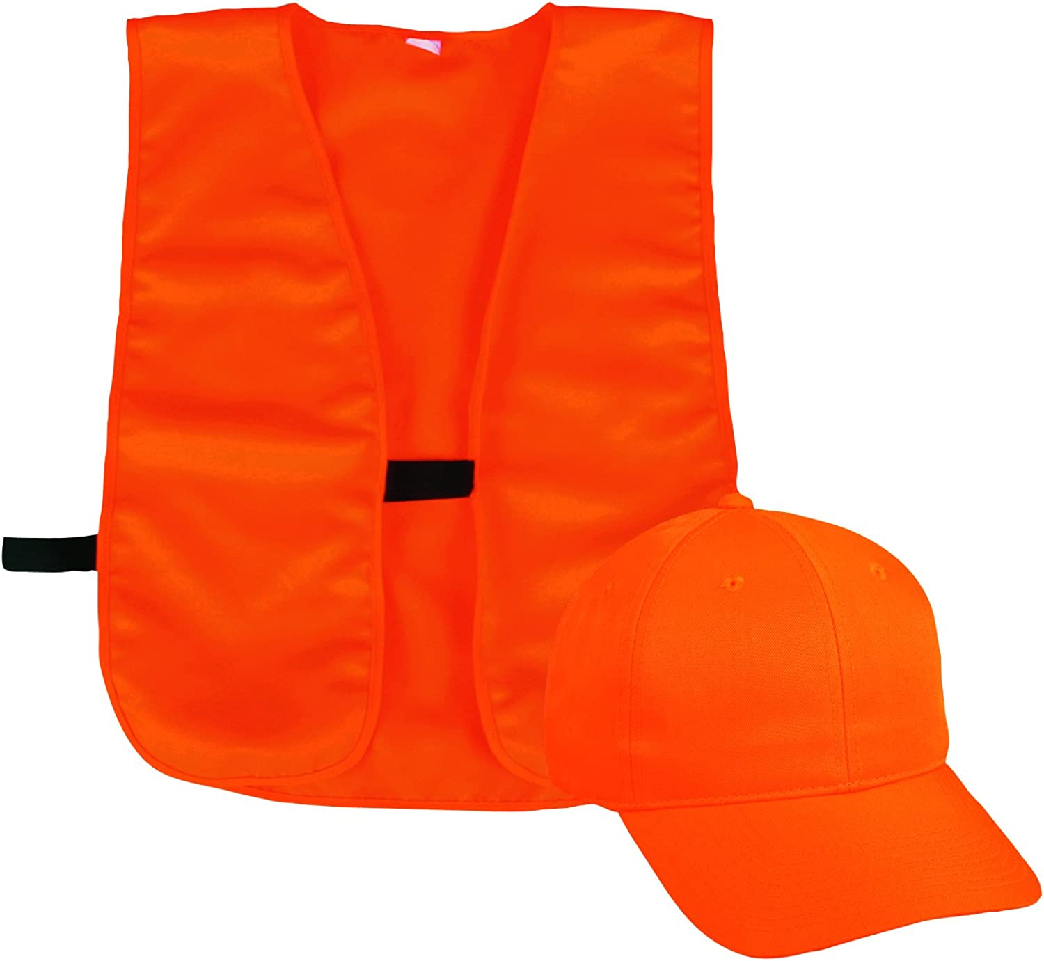 Outdoor Cap Vest and Cap Combo Youth Blaze: Clothing