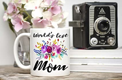 Image Unavailable Not Available For Color Mom Birthday Gift Worlds Best