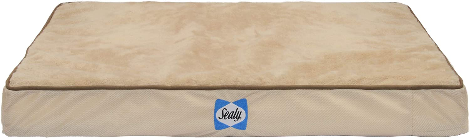 Sealy Ultra Plush Dog Bed – Orthopedic Foam pet Bed