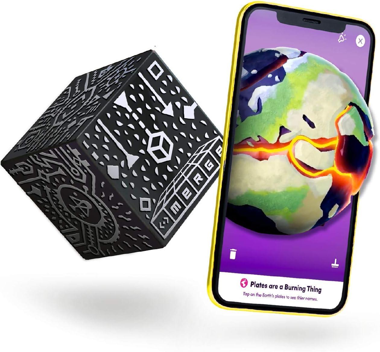 Merge Cube Juguete STEM de Realidad Aumentada - Juegos Educativos para el Aprendizaje de Ciencias, Matemáticas, Arte y Más en el Aula y en el Hogar
