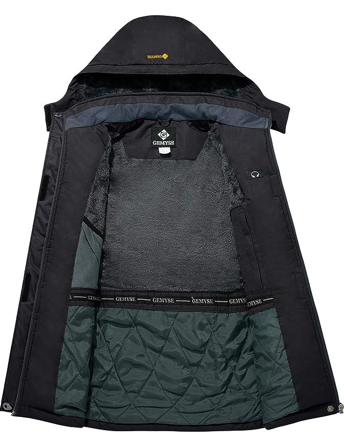 Amazon.com: GEMYSE - Chaqueta de esquí impermeable para ...