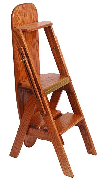 Wondrous Amazon Com Oak Ironing Board With Hidden Step Stool Amish Uwap Interior Chair Design Uwaporg