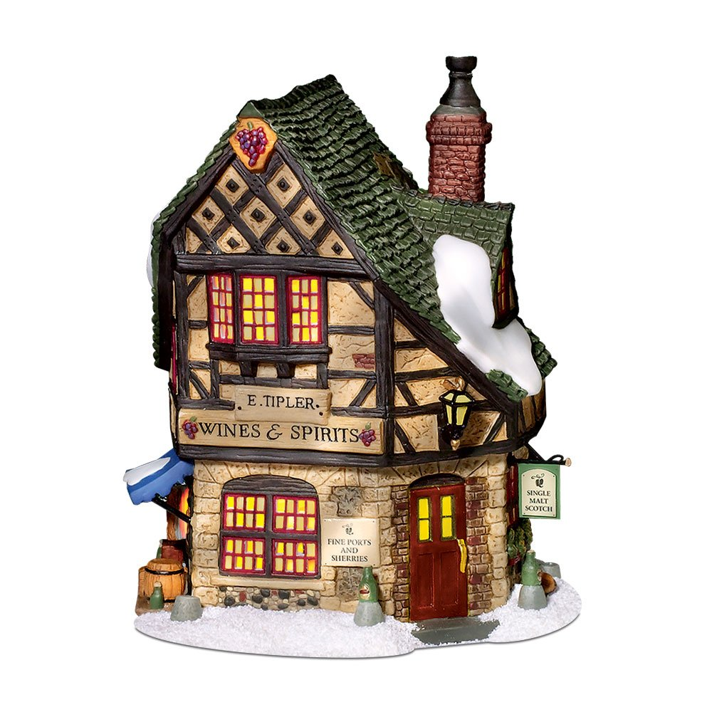 Department 56 Dickens' Village E Tipler Agent Wine Spirits Building by Department 56