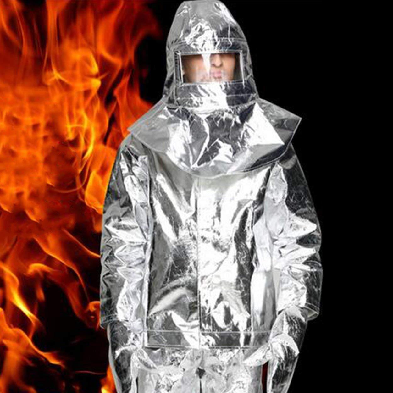 Lorenlli Aluminiumfolie feuergeschützte Kleidung Wärmedämmung Kleidung feuerfeste Aluminiumfolie Wärmedämmung Kleidung voller Satz