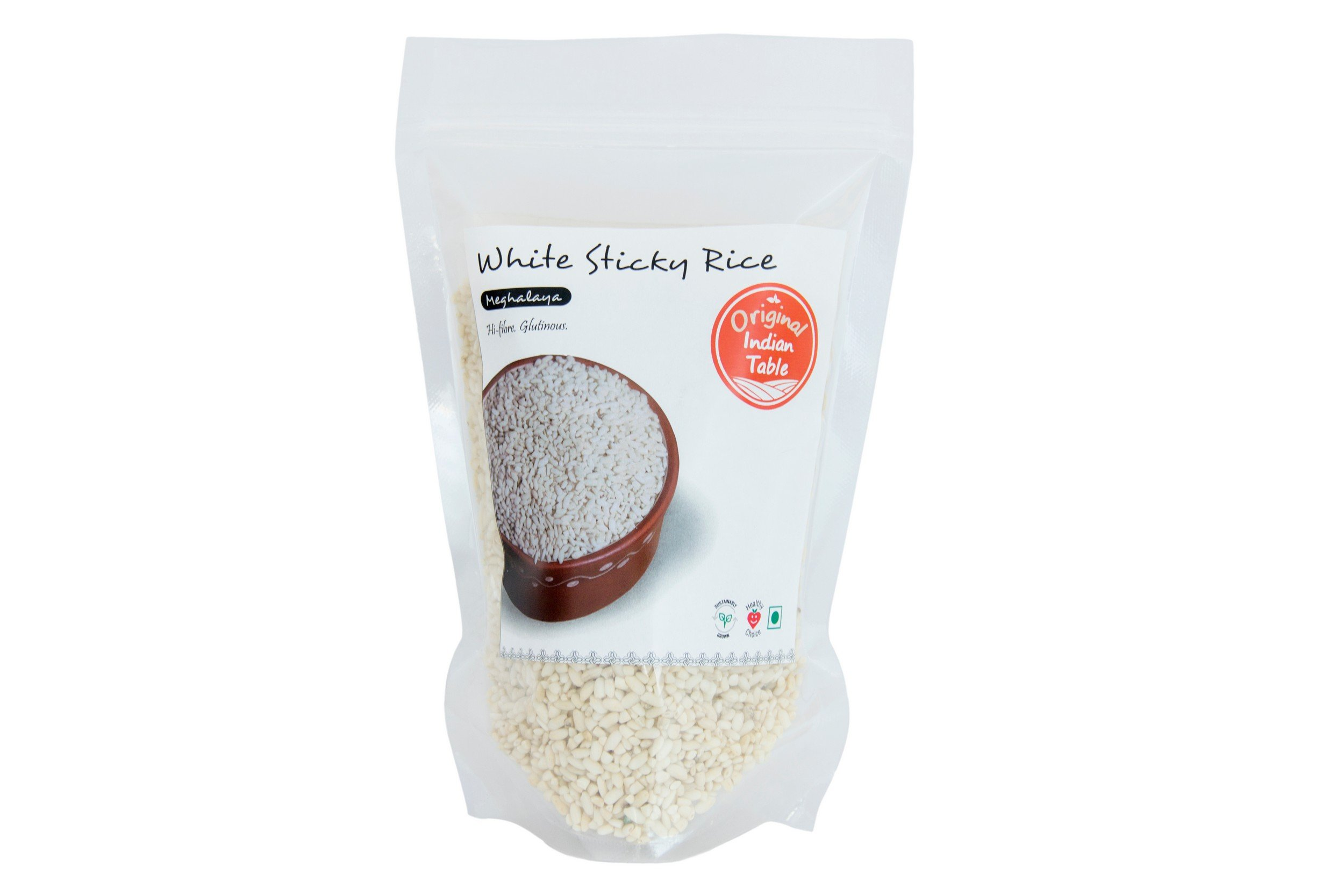 Original Indian Table White Sticky Rice, 400g (B0743JQ832) Amazon Price History, Amazon Price Tracker