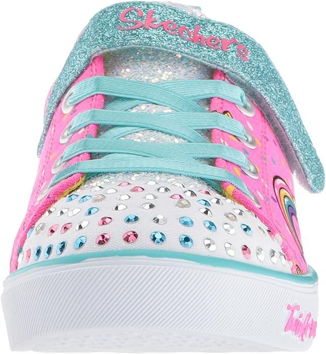 Abuelos visitantes Percepción pañuelo de papel  Amazon.com | Skechers Unisex-Child Sparkle Lite-Unicorn Craze Sneaker |  Sneakers