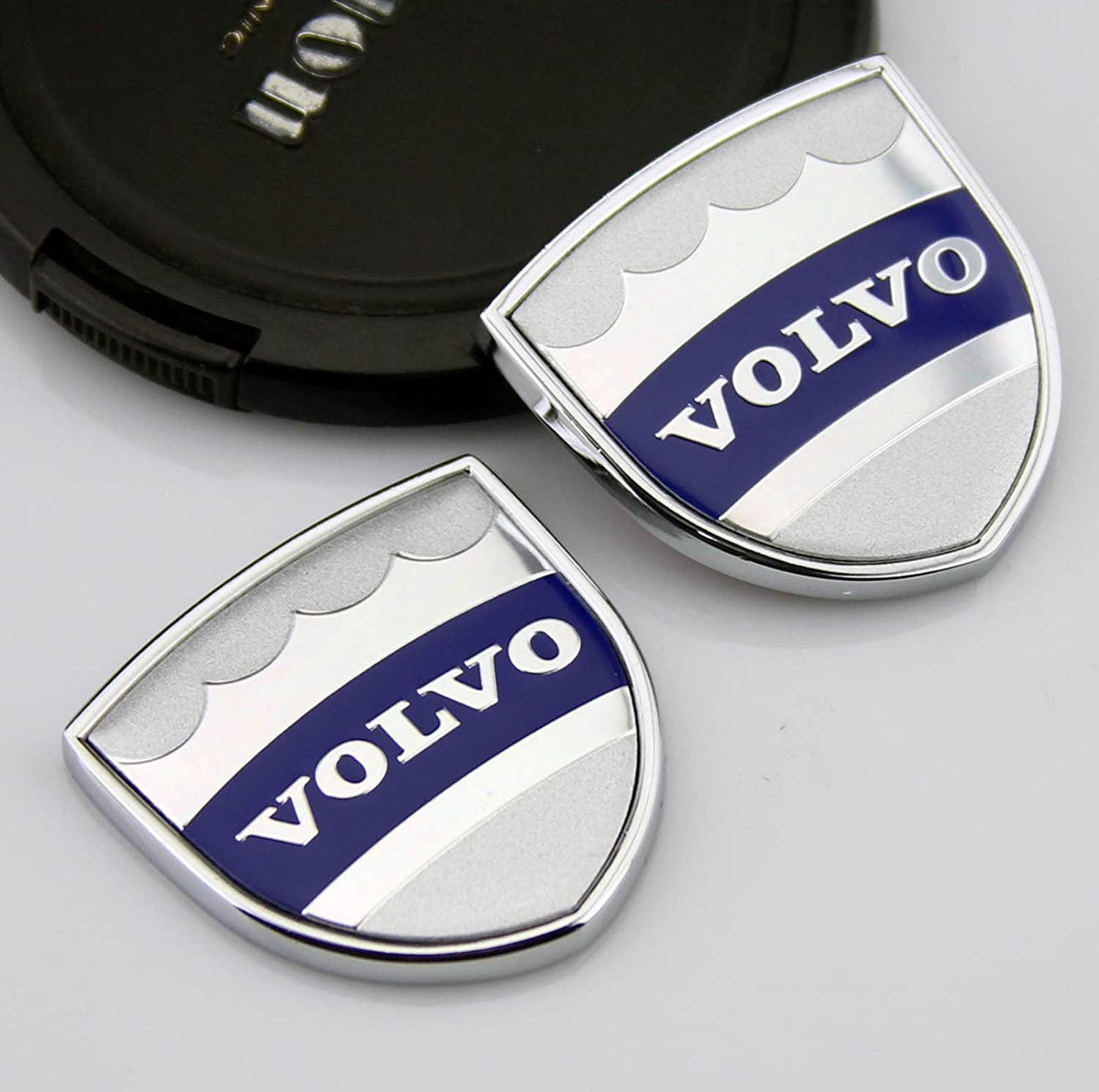 Incognito 7 3d laxury volvo logo volvo badges volvo emblem volvo metal stickers for all volvo cars 2 pcs amazon in car motorbike