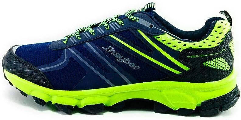 JHayber Ratoma Zapatillas Hombre Running Trail (44 EU, Navy): Amazon.es: Zapatos y complementos