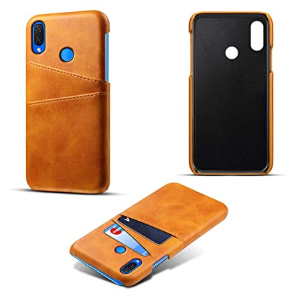 new product a7bf3 912e1 Amazon.com: Scheam Huawei Nova 3i Leather Wallet Case with Premium ...