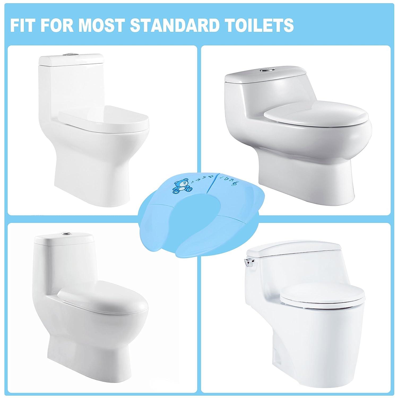 Amazon.com : Gimars Portable Folding Reusable Travel Toilet Potty ...
