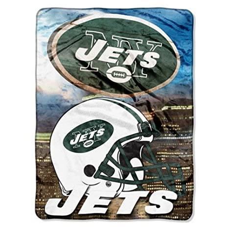 15481aab The Northwest Company NFL New York Jets Blanket, Team Color, 60