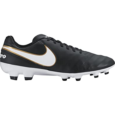 Nike Herren Tiempo Genio Il Leather FG Fußballschuhe, Weiß, UK: Amazon.de:  Sport & Freizeit