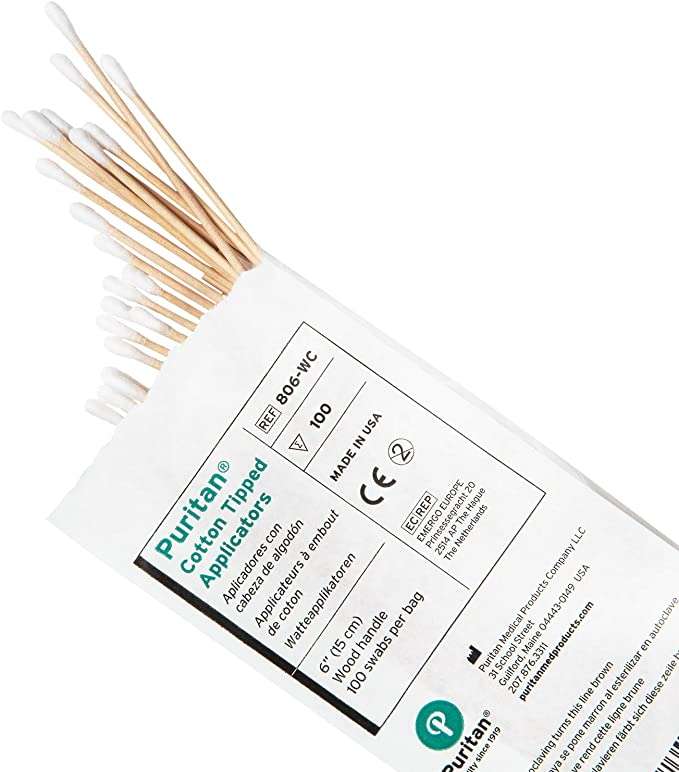 Amazon.com: Algodón Swabs de boxeo 100 ct.: Sports & Outdoors
