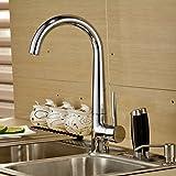 Auralum® Miscelatore della Cucina Rubinetto per Lavello Cucina rubinetti da Cucina