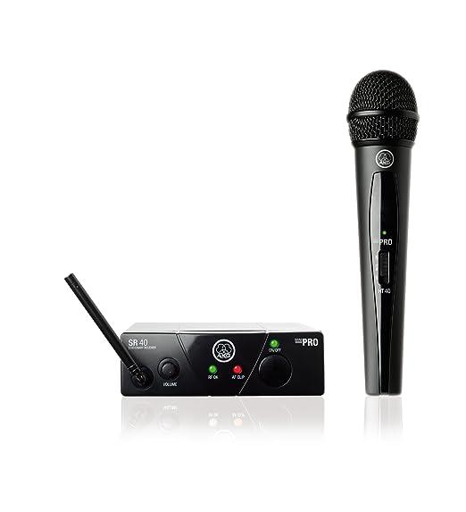 40 opinioni per AKG WMS 40 mini Vocal (ism 3- 864.850 mhz) radiomicrofono per karaoke, palestre,