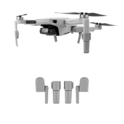 Penivo Foldable Extended Legs Heightened 2.5cm Landing Gear for DJI Mavic Mini Drone Support Protector Extensions Accessories: Camera & Photo