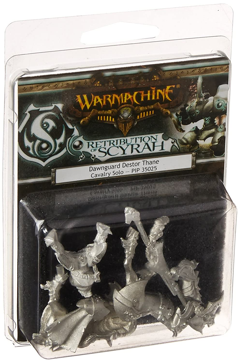 CDM product Privateer Press PIP35025 Warmachine-Retribution of Scyrah-Dawnguard Destor Thane Model Kit big image