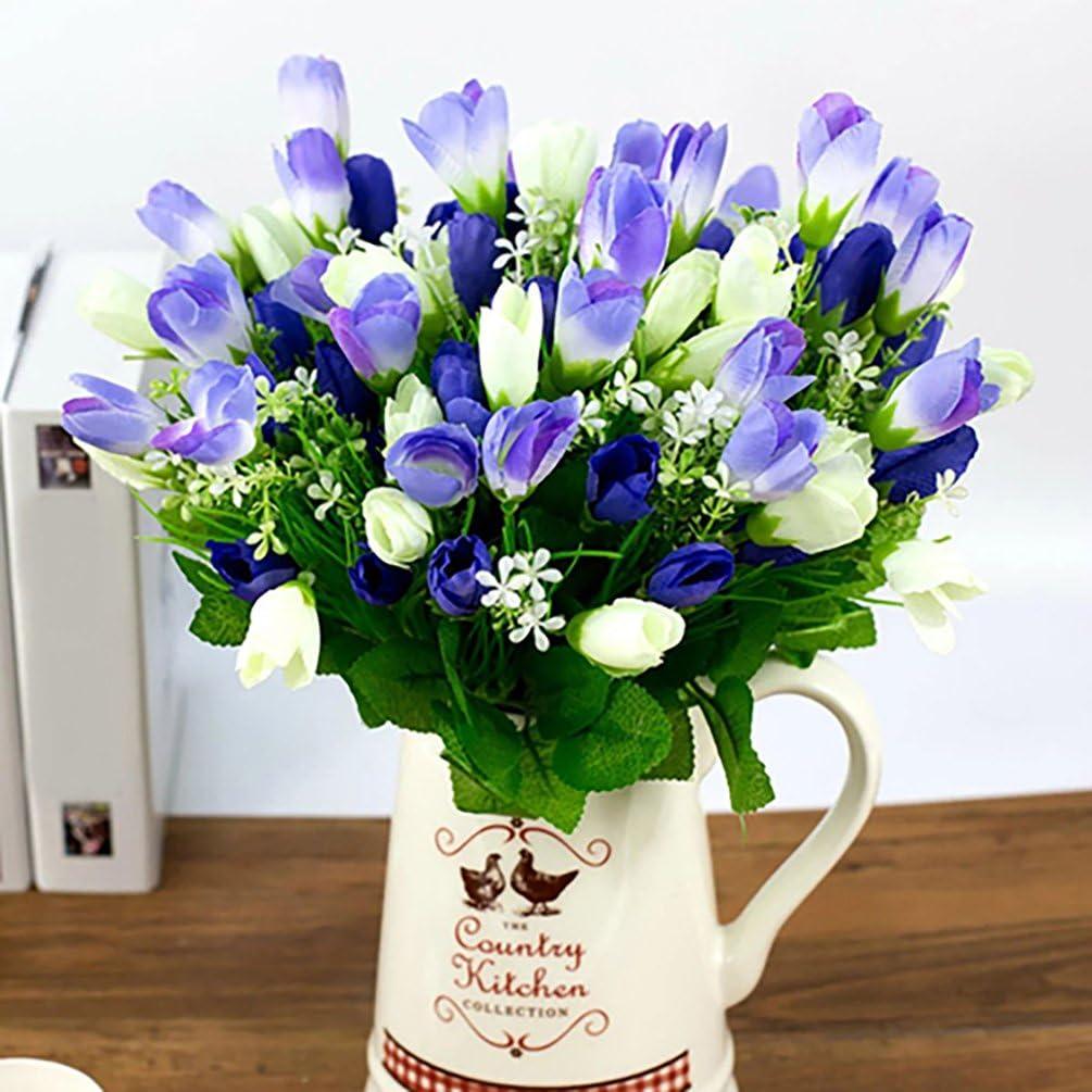 5 t/êtes Fleurs de Pivoine Bouquet de Fleurs de Pivoine Artificielle /à la Main d/écoration de Mariage /à la Maison sans Vase