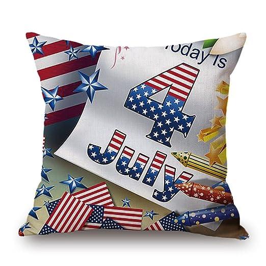 Bandera Americana. zomusa día de la independencia algodón ...
