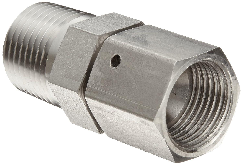 12MP-12FJS Straight 3//4 Tube OD Brennan 6505-12-12-SS Stainless Steel JIC Tube Fitting