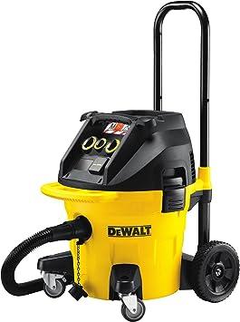 Dewalt DWV902M-QS Aspirador 38 litros Clase M, Negro, Amarillo ...