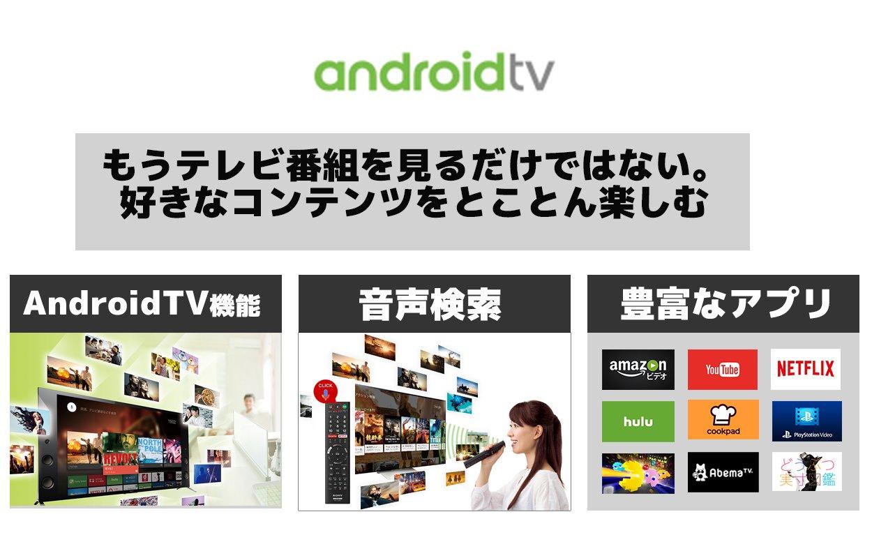 液晶テレビ VOD 音声検索機能