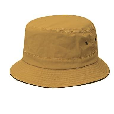 Dorfman Pacific Global Garment Washed Twill Boonie Bucket Hat at ... ac3a9175b042