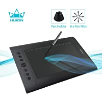 Huion H610Pro V2 Graphics Drawing Pen Tablet 8192 Pressure Sensitivity with Battery-Free Stylus